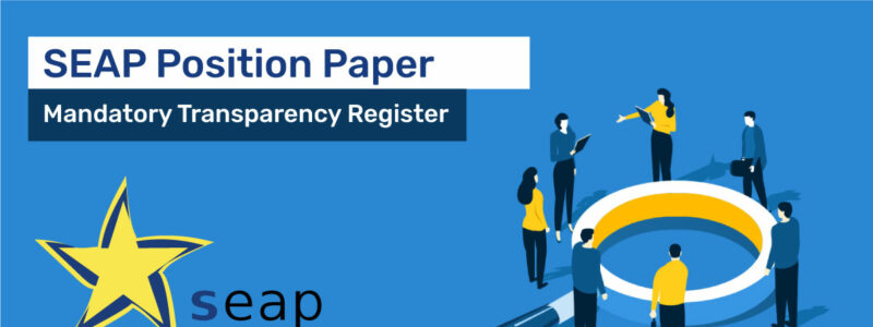 SEAP Updated Position Paper on the Inter-Institutional Agreement establishing a mandatory transparency register